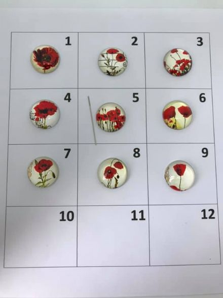 Poppies Needle Minder